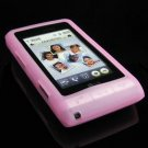 PREMIUM Soft Rubber Silicone Case for LG Dare - Pink