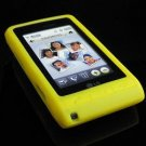 PREMIUM Soft Rubber Silicone Case for LG Dare - Yellow