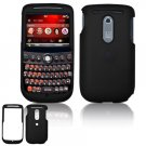 Hard Plastic Rubber Feel Cover Case for HTC Dash 3G - Black