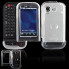 Hard Plastic Cover Case for LG Tritan AX840 - Clear