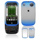 Hard Plastic Two Tone Frost Cover Case for Palm Pre - Dark Blue