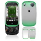 Hard Plastic Two Tone Frost Cover Case for Palm Pre - Neon Green