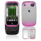 Hard Plastic Two Tone Frost Cover Case for Palm Pre - Pink