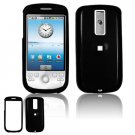 Hard Plastic Smooth Glossy Cover Case for HTC G2 Mytouch - Black