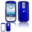 Hard Plastic Smooth Glossy Cover Case for HTC G2 Mytouch - Dark Blue