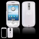 Hard Plastic Smooth Glossy Cover Case for HTC G2 Mytouch - White