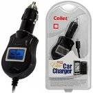 Elite Car Charger with Smart Display & IC Chip Protection For Motorola Rival A455 (Verizon)