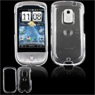 "Hard Glossy ""Transparent"" Faceplate Case for HTC Hero (Sprint) - Clear"