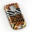 Hard Plastic Design Faceplate Case Cover for HTC Hero - Safari