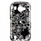 ard Plastic Design Faceplate Case Cover for Samsung Omnia 2 i920 - Black Skulls