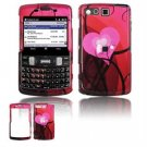 Hard Plastic Design Faceplate Case Cover for Samsung Intrepid i350 -Red Heart