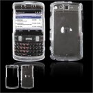 Hard Plastic Glossy Faceplate Case Cover for Samsung Intrepid i350 - Clear