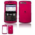 Hard Plastic Rubber Feel Faceplate Case Cover for Samsung Intrepid i350 - Pink