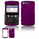 Hard Plastic Rubber Feel Faceplate Case Cover for Samsung Intrepid i350 - Purple