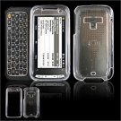 Hard Plastic Glossy Faceplate Case Cover for HTC Touch Pro 2 (Sprint) - Clear