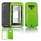 Hard Plastic Glossy Faceplate Case Cover for HTC Touch Pro 2 (Sprint) - Green