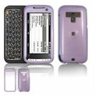 Hard Plastic Glossy Faceplate Case Cover for HTC Touch Pro 2 (Sprint) - Light Purple