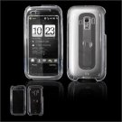 Hard Plastic Glossy Faceplate Case Cover for HTC Touch Pro 2 (Verizon) - Clear