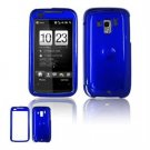 Hard Plastic Glossy Faceplate Case Cover for HTC Touch Pro 2 (Verizon) - Dark blue