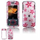 Hard Plastic Design Faceplate Case Cover for Motorola Debut i856 - Flowers