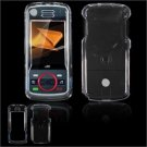 Hard Plastic Glossy Faceplate Case Cover for Motorola Debut i856 - Clear