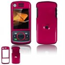 Hard Plastic Glossy Faceplate Case Cover for Motorola Debut i856 - Rose Pink