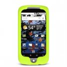 Soft Rubber Silicone Skin Cover Case for Google Nexus One - Green