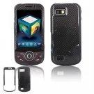 Hard Plastic Design Hard Case for Samsung Behold 2 T939 - Black Carbon Fiber