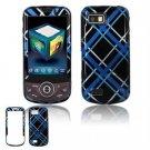 Hard Plastic Design Hard Case for Samsung Behold 2 T939 - Blue/Black