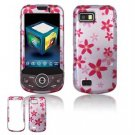 Hard Plastic Design Hard Case for Samsung Behold 2 T939 - Flowers