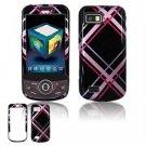 Hard Plastic Design Hard Case for Samsung Behold 2 T939 - Pink/Black