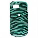 Hard Plastic Design Hard Case for Samsung Behold 2 T939 - Turquoise/Black