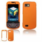 Hard Plastic Rubber Feel Faceplate Case Cover for Samsung Behold 2 T939 - Orange