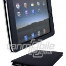"Navy Blue Leather ""Slider"" Case for Apple iPad"