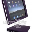 "Purple Leather ""Slider"" Case for Apple iPad"