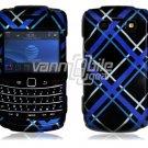 Blue/Black Design Hard Case for BlackBerry Bold 2 9700