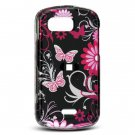 Pink Butterfly Design Hard Case for Samsung Mythic A897
