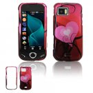 Pink Heart Design Hard Case for Samsung Mythic A897
