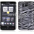 "Silver/Black Design Hard 1-Pc ""Back/Rear"" Case for HTC HD2 (T-Mobile)"