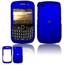 "Blue Hard ""Rubber Feel"" Case for BlackBerry Curve 8520 (T-Mobile)"