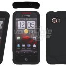 Black Soft Cover for HTC Droid Incredible (Verizon Wireless)