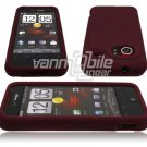 Burgundy Soft Cover for HTC Droid Incredible (Verizon Wireless)