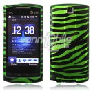 Green/Black Stripes Design Hard 2-Pc Faceplate Case for HTC Pure (AT&T)