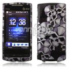 Black/Silver Skulls Design Hard 2-Pc Faceplate Case for HTC Pure (AT&T)