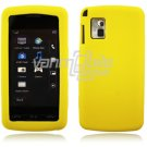 Yellow Soft Cover for LG Vu CU915/CU920