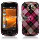 Pink Argyle Design Hard Case for Samsung Omnia 2 i920 (Verizon Wireless)