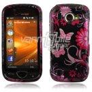 Pink/Black Design Hard Case for Samsung Omnia 2 i920 (Verizon Wireless)