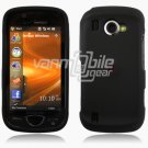 "Black Hard ""Rubber Feel"" 2-Pc Snap On Case for Samsung Omnia 2 i920 (Verizon Wireless)"