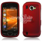 "Red Hard ""Rubber Feel"" 2-Pc Snap On Case for Samsung Omnia 2 i920 (Verizon Wireless)"
