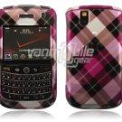 Pink Argyle Design Hard Case for BlackBerry Tour 9600/9630